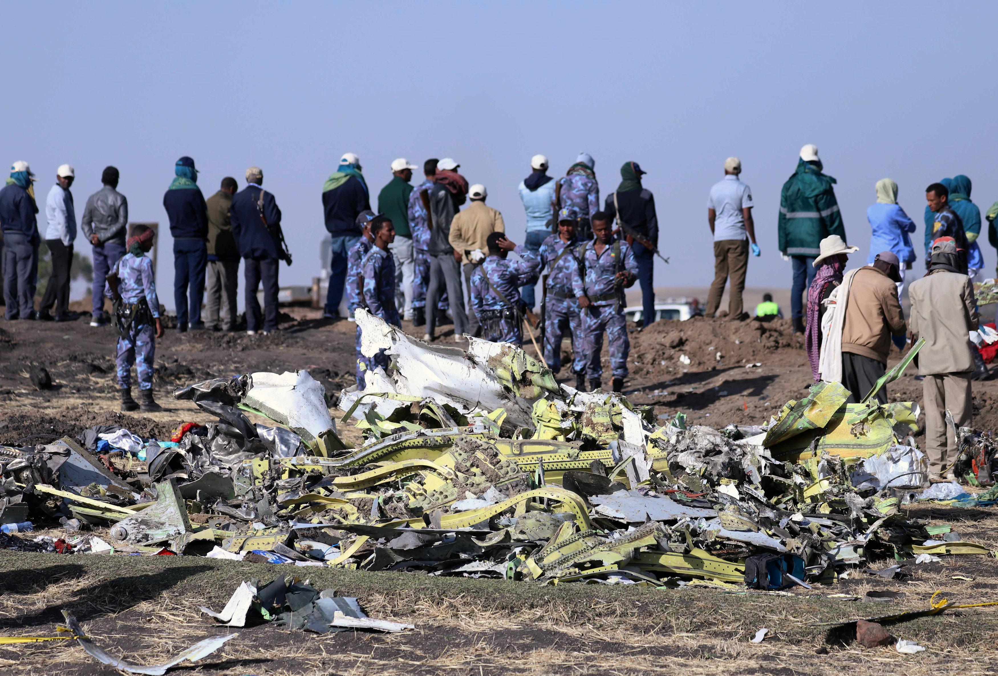 مفاجآت جديدة بشأن الطائرة الإثيوبية المنكوبة .. وننشر اخر رسالة لقائدها