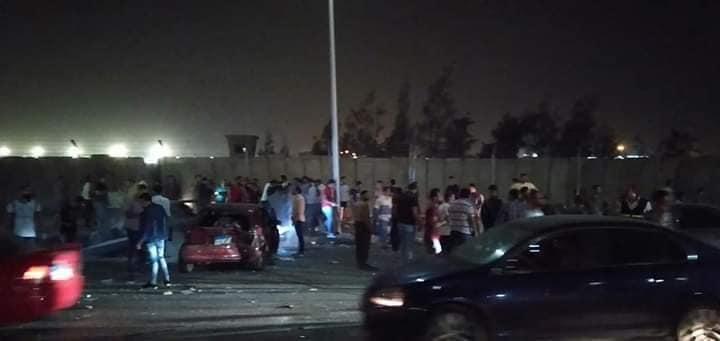 الدماء تغرق الطريق .. حادث مأساوي يهز مصر صباح اليوم ومقتل وإصابة اكثر من 14 شخص .. التفاصيل الكاملة