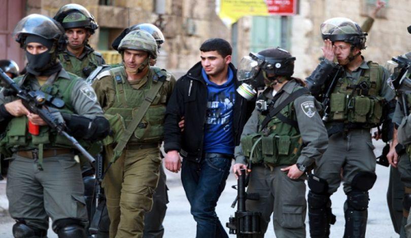 اعتقال10 فلسطينيين من القدس والضفة الغربية  علي يد الاحتلال الإسرائيلى