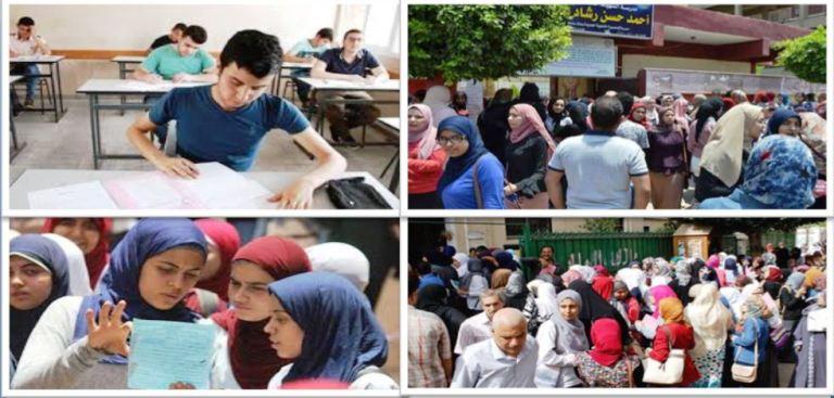 إنطلاق مارثون الثانوية العامة .. 685 ألف طالب بالثانوية العامة يبدأون امتحان العربى والدين فى 1820 لجنة