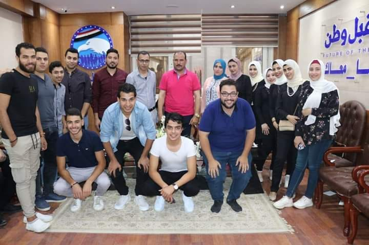 مستقبل وطن يكرم المتميزين في أمانة اعلام الحزب بالشرقية