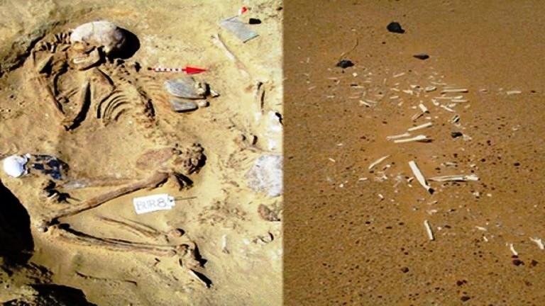 ليبيا  تعثر على آثار حضارة متطورة مجهولة في الصحراء