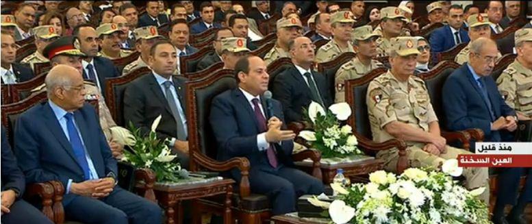 رسائل الرئيس السيسي في افتتاح مجمع الأسمدة الفوسفاتية والمركبة بالعين السختة
