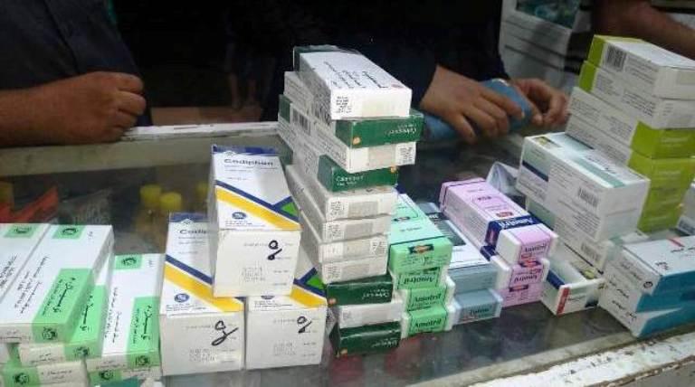 ضبط أدوية مخدرة ومنتهية الصلاحية بديرب نجم بالشرقية