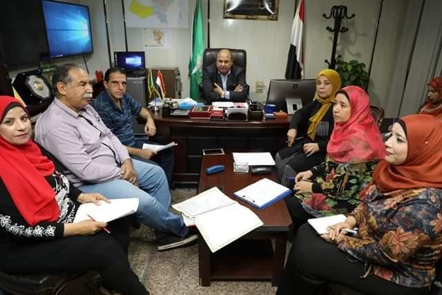 اللواء علاء رشاد يعقد اجتماعا هاما