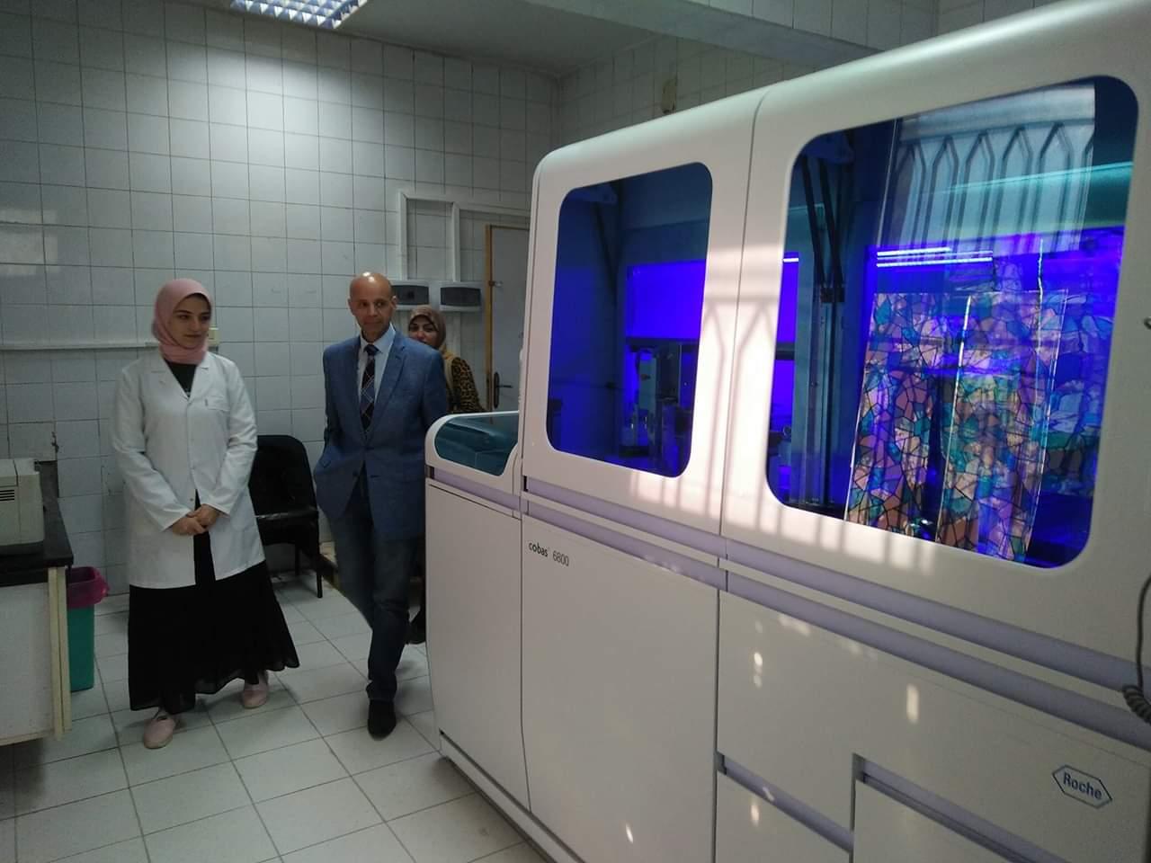 صحة الشرقية : تطوير المعامل بمستشفيات المحافظة خلال ٦ أشهر