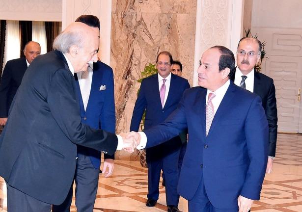 السيسي : مصر حريصة على سلامة وأمن واستقرار لبنان