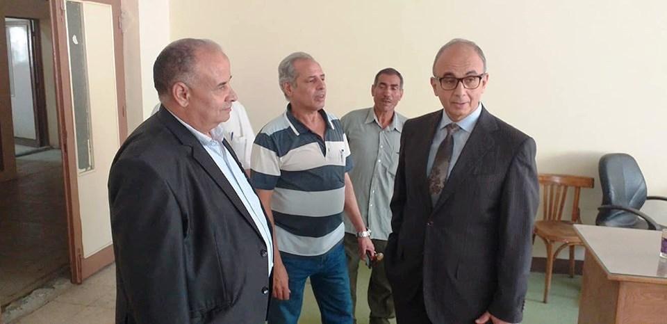 بالصور. الدكتور عثمان شعلان نائب رئيس جامعة الزقازيق يتابع الأستعداد للعام الدراسي الجديد