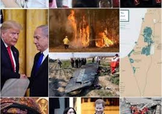 أبرز 10 أحداث مرت بالعالم فى شهر يناير