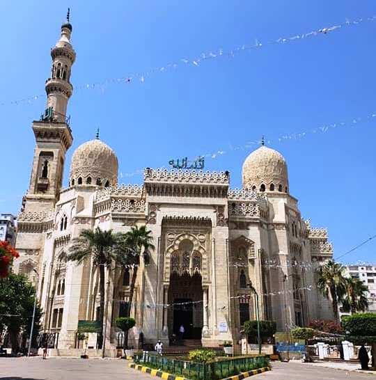 مسجد أبو العباس المرسي تحفة معمارية