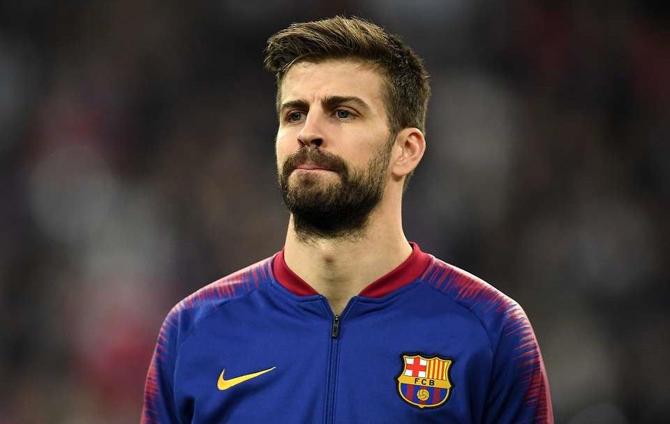 بيكيه يوجه رسالة غاضبة للجمهور بسبب ما فعله معار برشلونة مع سيلتا
