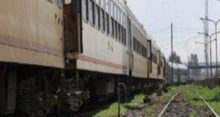 التحقيق فى حادث تصادم قطار بعربة كارو فى المنيا